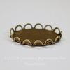 Сеттинг - основа для камеи или кабошона 18х13 мм (оксид латуни)