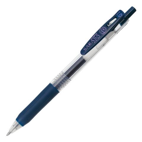 Ручка гелевая Zebra Sarasa Clip 1.0 сине-чёрная