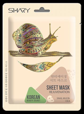 Shary Тканевая маска-омолаживание для лица