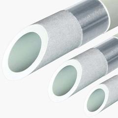 Труба полипропиленовая FV Plast Stabioxy 32 х 3.6 (PN 20) алюминиевый слой (1 м.)