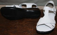 Белые сандалии женские Evromoda 15 White.
