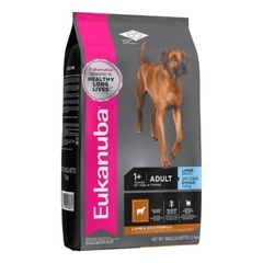 Корм для собак крупных пород Eukanuba Dog ягненок