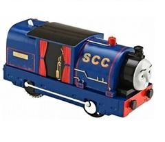 Fisher Price Моторизованный паровоз ТИМОТИ из серии Трекмастер (CKW29-3)