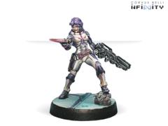 ALEPH - Myrmidon Offcer (Combi Rifle, Boarding Shotgun)