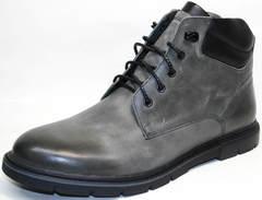 Мужские зимние кожаные ботинки Ikoc 3620-3 S