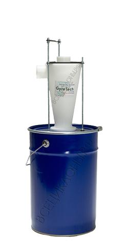 Циклонный фильтр М-1, пылесборник 50л, скелетный крепёж, шланг