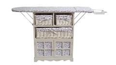 Гладильный комод PE-03 с подставкой для утюга и 3-мя корзинами