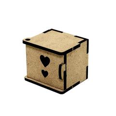 Прикроватная тумбочка для кукольного домика