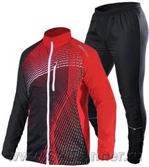 Костюм беговой Noname Pro Tailwind Running red/black мужской