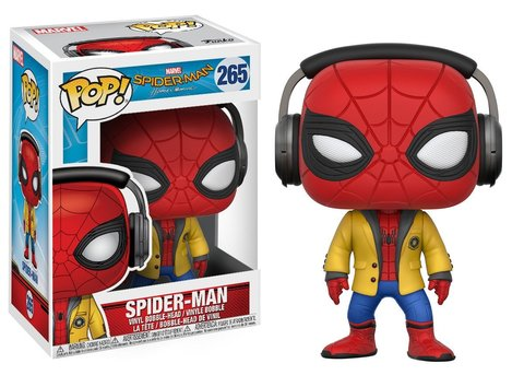 Фигурка Funko POP! Bobble: Spider-Man Homecoming: Spider-Man w/ Headphones 21660