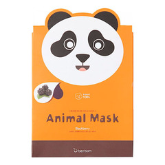 Berrisom Animal Mask Series Panda - Маска тканевая экстрактом ежевики
