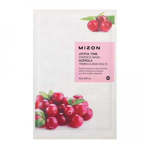 Mizon Joyful Тканевая маска для лица с экстрактом ягод ацеролы 23г