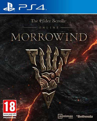PS4 Elder Scrolls Online: Morrowind (русская документация)