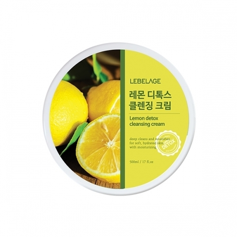 Очищающий крем LEBELAGE LEMON Detox Cleansing Cream 500ml