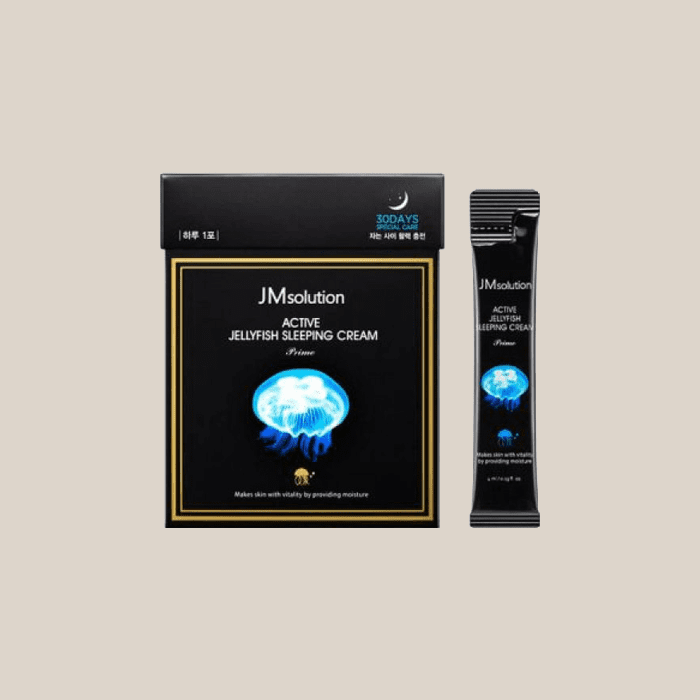 Маска для лица ночная с медузой JM Solution Active Jellyfish Sleeping Cream