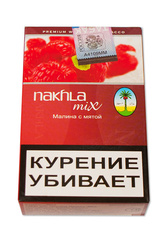 Табак Nakhla Mix 50 г Ice rasberry mint (Малина с Мятой)
