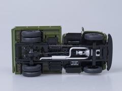 ZIL-MMZ-4502 tipper later grille metal body khaki Start Scale Models (SSM) 1:43