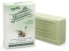 Натуральное мыло с мастикой и оливковым маслом Mirovolos от Anemos 100 гр.