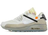 Кроссовки Мужские Off White X Nike Air Max 90
