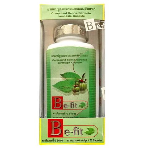 Be-fit - Тайские таблетки для похудения с Гарцинией, 60 капсул