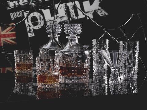 Декантер для виски 750 мл артикул 99505. Серия Punk