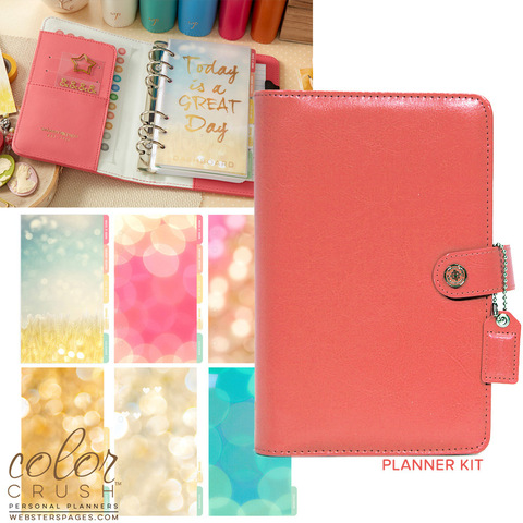 Планнер PERSONAL PLANNER KIT : Light Pink  by Websters Pages