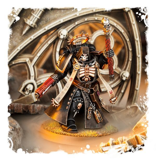Миниатюра Primaris Chaplain