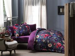 Постельное белье PIZZO фиолетовый  TIVOLYO HOME Турция
