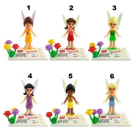 Minifigures Girls Fairies Blocks Building