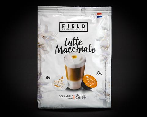 FIELD PREMIUM COFFEE Latte Macchiato. Интернет магазин чая
