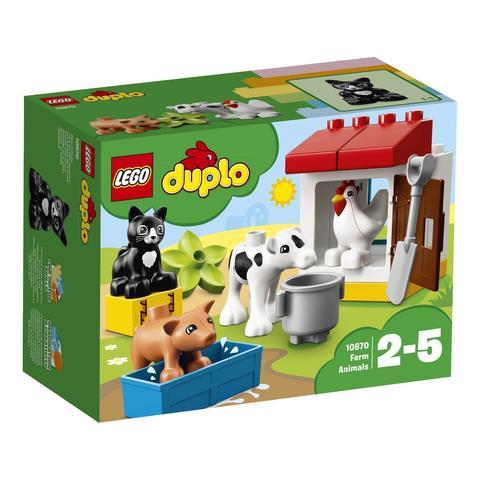 LEGO Duplo: Ферма: Домашние животные 10870 — Farm Animals — Лего Дупло