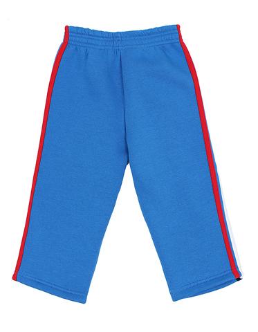 Basia Н867  Брюки трикотажные для мальчика с начесом синий