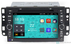 Штатная магнитола 4G/LTE с DVD для Chevrolet Captiva 06-12 на Android 7.1.1 Parafar PF020D