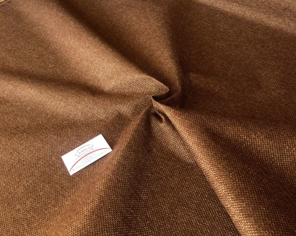 Рогожка коричневая