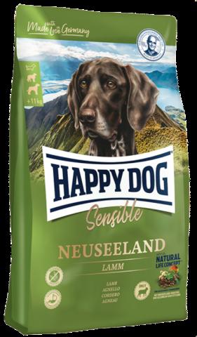 Дефект пакета Happy Dog Supreme Sensible - Neuseeland с ягненком и рисом 12.5 кг