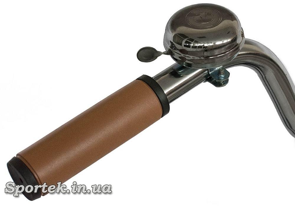 Ручка и звонок городского мужского велосипеда Dorozhnik Comfort Male 2016 (Дорожник комфорт)