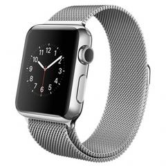 Часы смарт Apple Watch 38мм (миланский сетчатый стальной с магнитной застежкой)