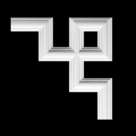 Угловой элемент Европласт из полиуретана 1.52.286, интернет магазин Волео