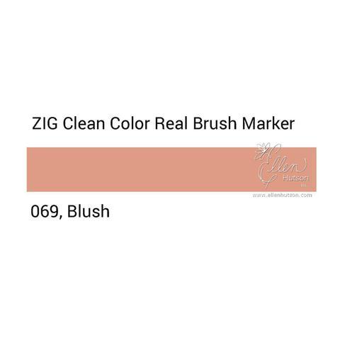 Маркер акварельный ZIG Clean Color Real Brush- штучно - 069