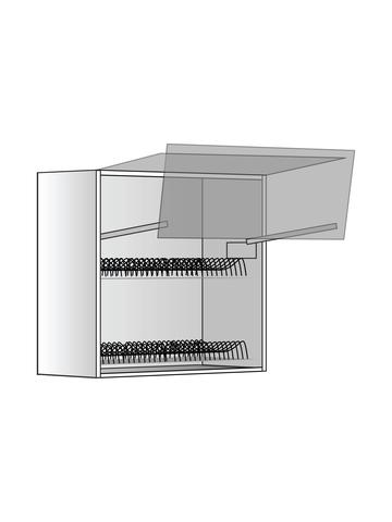 Верхний шкаф c сушилкой и подъемником, 600х600 мм