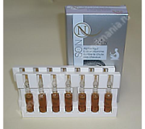 NORGIL Ампулы против выпадения волос 5-альфарегулирующие с экстрактом карликовой пальмы 24N