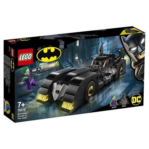 LEGO Super Heroes: Бэтмобиль: Погоня за Джокером 76119 — Batmobile: Pursuit of The Joker — Лего Супер Герои ДиСи