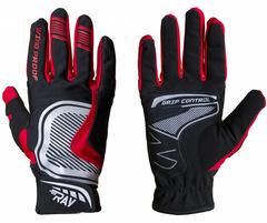 Лыжные перчатки Ray Про черный-красный