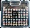 Набор красок Gamel Color 72 цв + кисти