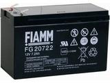 Аккумулятор FIAMM FG20722 ( 12V 7,2Ah / 12В 7,2Ач ) - фотография