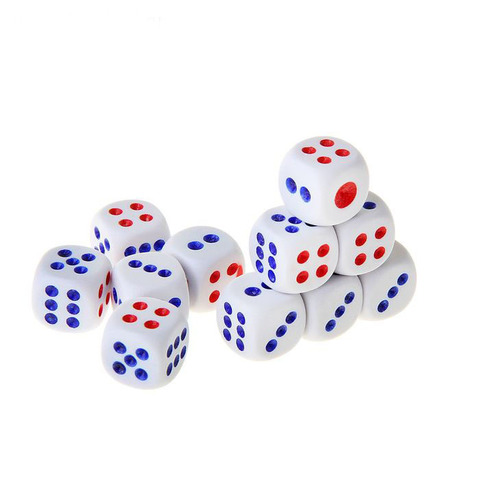 063-7941 Кости игральные 1.2х1.2 см