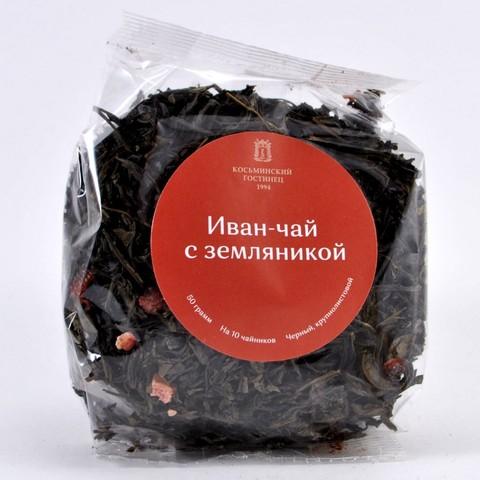 Иван-чай с земляникой Косьминский Гостинец, 50г