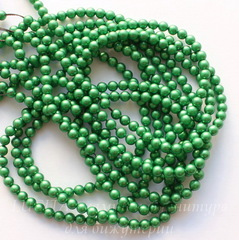 5810 Хрустальный жемчуг Сваровски Crystal Eden Green круглый 4 мм, 10 штук