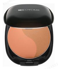 Румяна двухцветные тон 202 (Коричневая сепия) (Otome | Otome Make Up | Duo Color Powder Blush), 13 мл