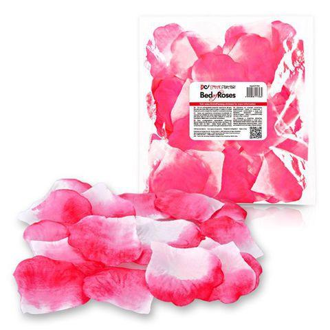 Бело-розовые лепестки роз Bed of Roses - Erotic Fantasy EF-T003